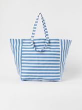 H & M - Romslig strandveske - Blå