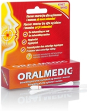Oralmedic afte/blemme/2behandl- utsolgt