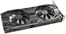 EVGA GeForce RTX 2080 SUPER BLACK GAMING - Grafikkort - GF RTX 2080 Super - 8 GB GDDR6 - PCIe 3.0 x16 - HDMI, 3 x DisplayPort, USB-C
