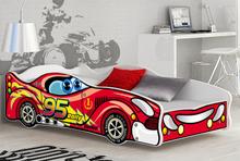 Bilseng CARS 160×80 inkludert madrass