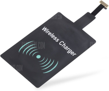 Android Devices Wireless Charger Receiver Wide Top and Narrow Bottom Type