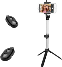 Yeshold High-end for iPhone / Samsung / Xiaomi Mobile Phone Universal Hand-Held Tripod Selfie Stick