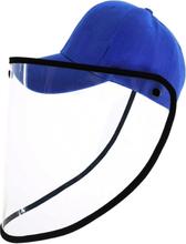 Keps med ansiktsskydd / Skyddsvisir Blå