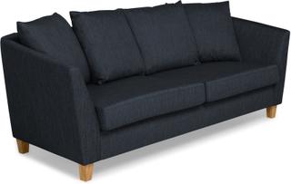 Wave 2,5-Sits Soffa Kuvertkuddar - Mörkblå