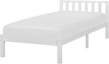 Sänky valkoinen 90 x 200 cm FLORAC