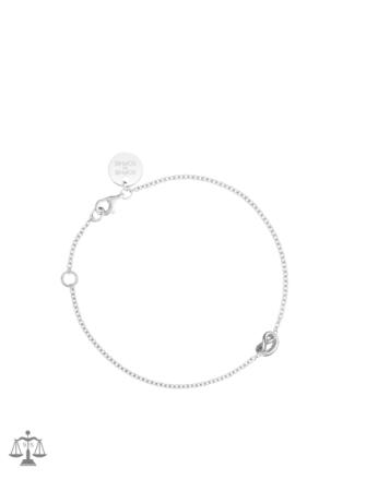 SOPHIE By SOPHIE Knot Bracelet Sølv