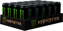 24 x Monster Energy, 355 ml, Slim Original, Slim Original