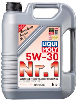 Liqui Moly Nr.1 Motorenöl 5W-30 5 Liter Kanister