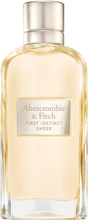 Kjøp Abercrombie & Fitch First Instinct Sheer Woman EdP, 50 ml Abercrombie & Fitch Parfyme Fri frakt