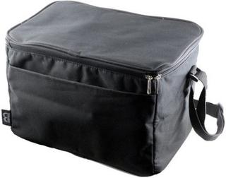 Väska för 6 st provningsglas Svart