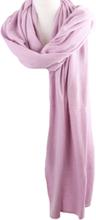Kasjmier-blend sjaal/omslagdoek in lila