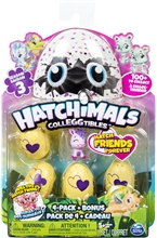 Hatchimals Colleggtibles 4-pack Bonus S3