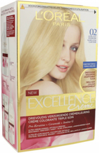 L'Oreal Excellence Creme Hair Color 02 Ultra Light Blonde 1 kpl