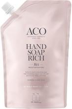 ACO Hand Soap Rich Refill P 600 ml