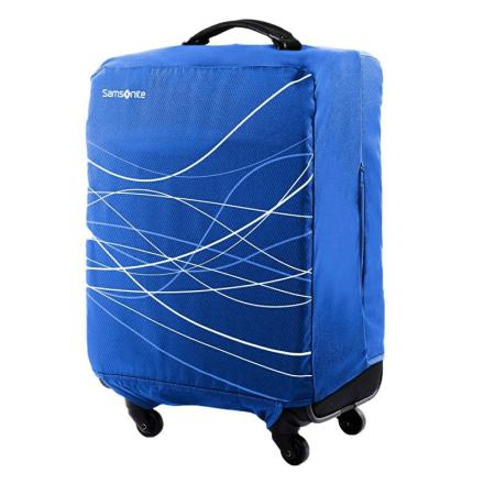 Samsonite kuffertovertræk m/lynlåsåbninger