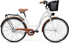 """Cykel Classic 28"""" - 3 växlar - vit"""