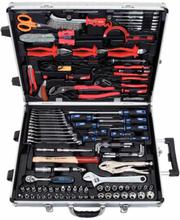 KS Tools Verktygssats med hylsor och bits CHROMEplus 172 delar