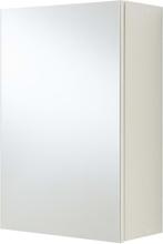FMD Badrumsskåp med spegel vit