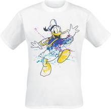 Donald Duck - Splatter -T-skjorte - hvit