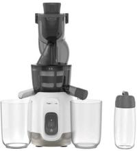 MOULINEX ZU600110 Ultra Juice Extractor Cold Juice 2 Filtre Flaske 600 ml Ekstra stor tud 85 mm, Automatisk program