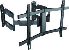 Deltaco väggfäste för välvd TV/skärm, 32-75/45kg, VESA, svart