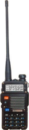 Baofeng BF-F8HP Walkie-Talkie Sett - Dual Band+Radio