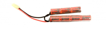 Batteri - 8.4V 1600mAh Cranestock - Liten Plugg - NiMH