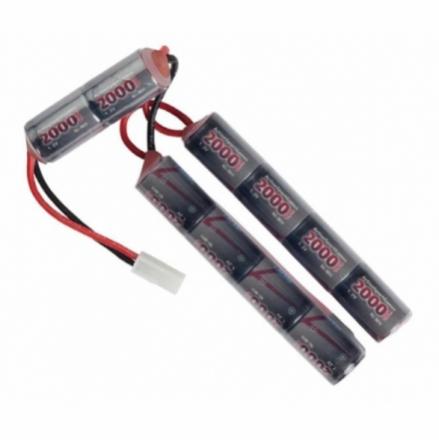 Batteri 12V 2000mAh (Cranestock), Liten plugg