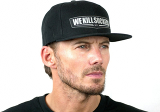 Bunker Kings Snapback WKS Patch Caps - Black