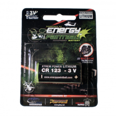 Energy Paintball - CR123 - 3V