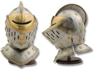 Golden Knight Helmet - Full Size