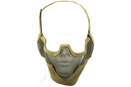 Nuprol Mesh Maske med Gitter V2 - Tan