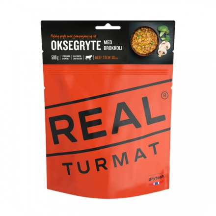 REAL Turmat - Oksegryte med Brokkoli