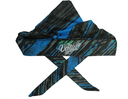 Virtue Headwrap - Graphic Cyan/Lime