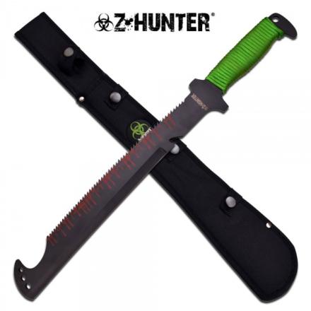 Zombie Hunter Saw Back Machete