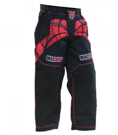 MacDev Pants - Red / Black