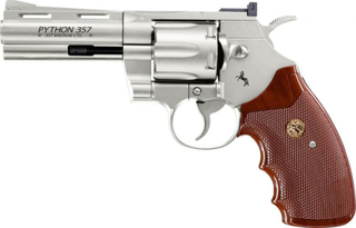 Colt Python 4 - Nickel - 4.5mm BB Luftpistol