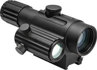 Dual Urban Sikte - 4x32 med Offset Green Dot Sikte