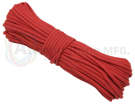 Paracord 550 Kevlar Red - 15meter Bunt