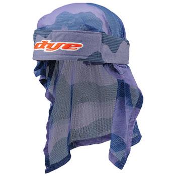 Dye Headwrap Bomber - Red/Blue