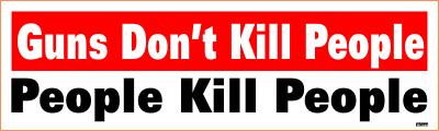 Guns Dont Kill - People Kill People - Klister