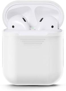 Apple AirPods Fodral i silikon (Färg: Vit)
