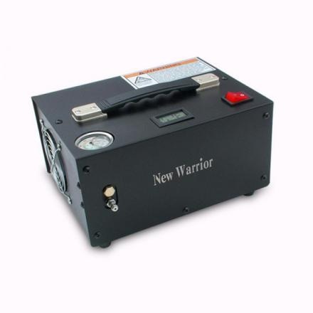 New Warrior 12V/220V Elektrisk Kompressor til PCP
