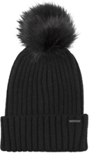 Everest Big Pom Hat Lasketteluvaatteet BLACK