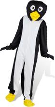 vidaXL Maskeraddräkt Unisex Pingvin XL-XXL