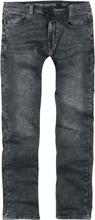 Shine Original - Slim Fit Jeans Black Mud -Jeans - svart