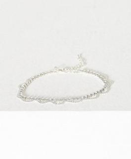 NLY Accessories Crystal Chain Anklet Øvrige smykker