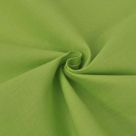 vidaXL bomuldsstof 1,45 x 20 m grøn