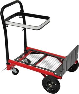 vidaXL Plattformsvagn fällbar 70 kg
