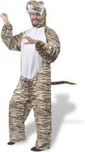 vidaXL Maskeraddräkt Tiger M-L